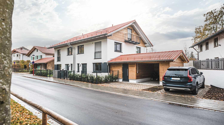 LEAN BAU Doppelhaus Doppelhaus